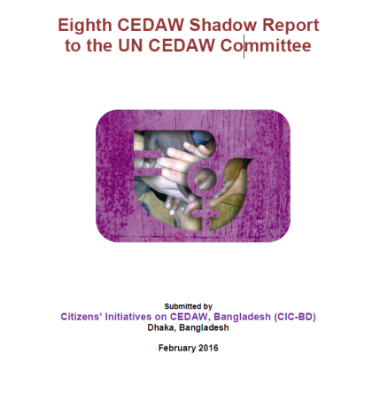 Eighth CEDAW Shadow Report